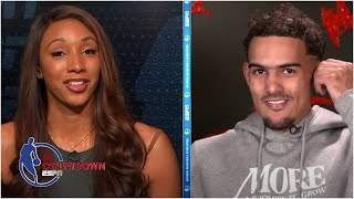 Trae Young Sits Down With Maria Taylor Ahead Of Game 3 Vs. 76ers | NBA Countdown