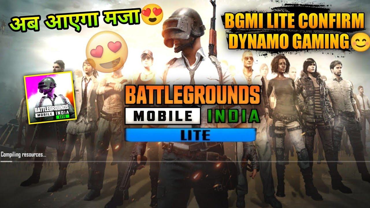 🔥BGMI Lite Big Announcement For Dynamo Gaming   Pubg Mobile Lite Release Date In India Soon....