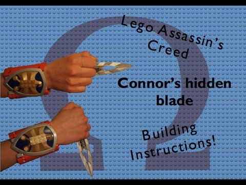 Lego Assassins Creed 3 Connors Hidden Blade Building Instructions