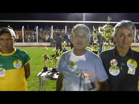 Prefeito Davinelson sobre o campeonato Municipal Montealegrense. thumbnail