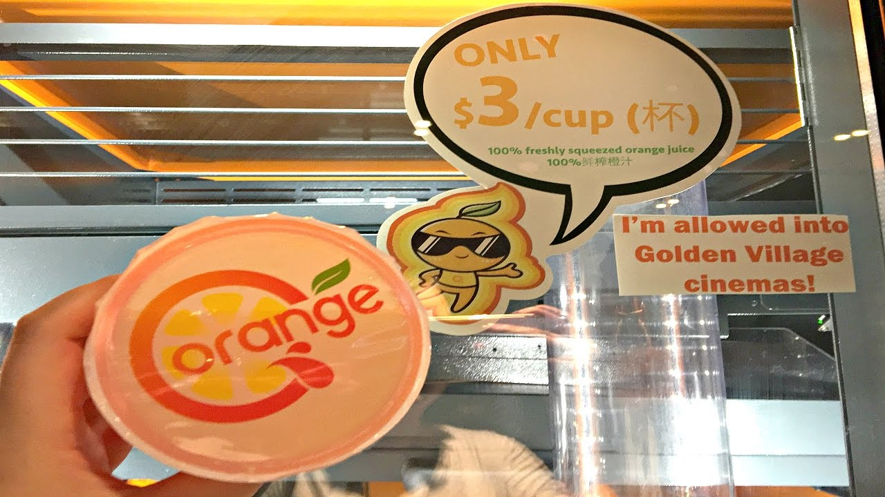 Freshly Squeeze Orange Juice Vending Machine Singapore