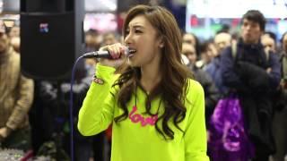 Repeat youtube video Hey Jude-許靖韻Angela+威哥 (旺角John Lennon)TONY