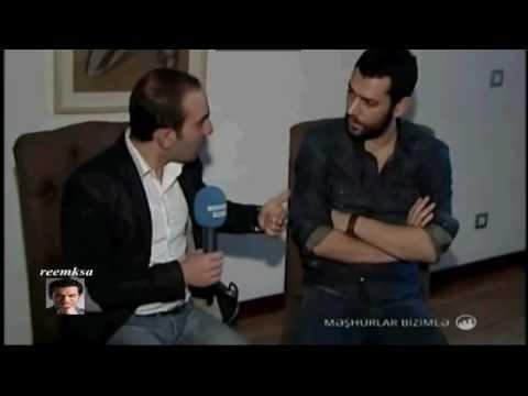 Murat Yıldırım with Azerbaijan TV  - 17.02.2013