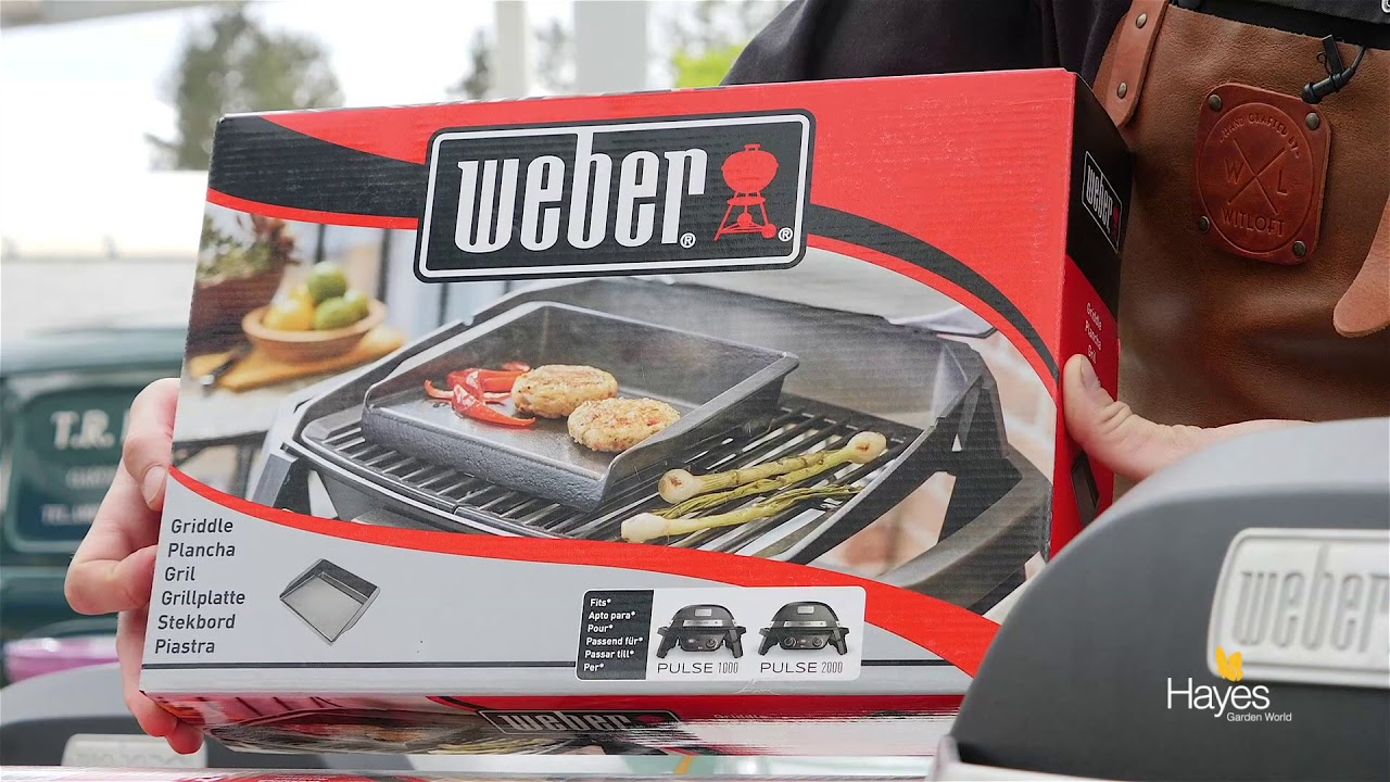6fde8a21515 Best features of the Weber Pulse Electric BBQs - YouTube