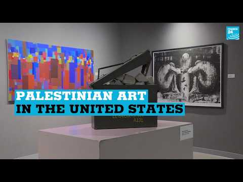 Palestinian art in the United States