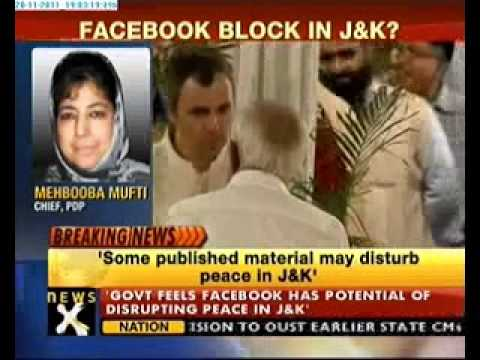 J&K govt may block Facebook