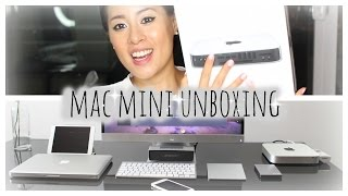 Apple Mac Mini 2.6GHz Summer 2015 | Unboxing | Wireless Keyboard + Magic Trackpad