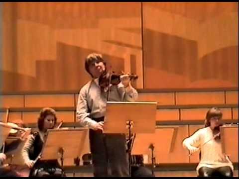 Victor Tretiakov rehearsal from Orhestra of Patras (1998) part 3
