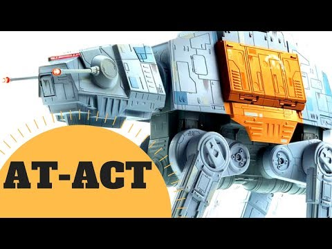 Cargo AT-AT  - All Terrain Armored Cargo Transport AT-ACT Lore - Star Wars Canon & Legends Explained