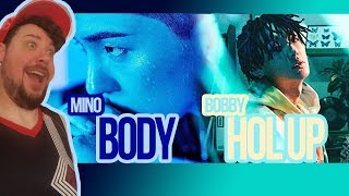 """Mikey Reacts to Mino """"Body' and Bobby 'Hol Up'"""