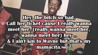 Travi$ Scott (Ft. Young Thug & Rich Homie Quan) Mamacita (Lyrics)