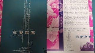 恋愛寫眞 Collage of Our Life A 2003 映画チラシ 2003年6月14日公開 【...