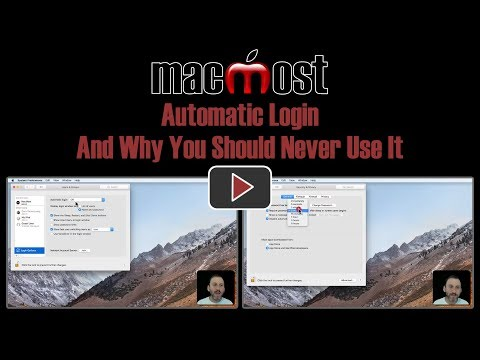 Automatic Login And Why You Should Never Use It