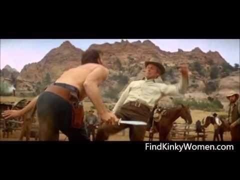 Butch Cassidy and the Sundance Kid ballbusting scene