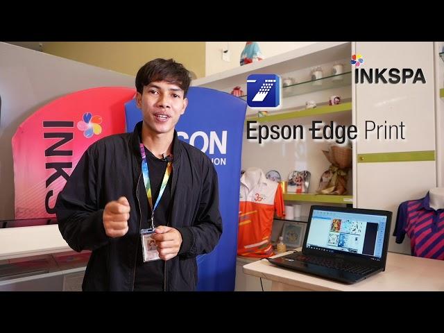 Epson f6330 Epson f series เครื่องพิมพ์ซับลิเมชั่น เครื่องพิมพ์เสื้อ จาก Epson [inkspa Review]