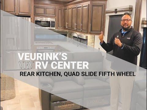 2020 Kz Rv Durango Gold 391rkq Rear Kitchen Luxury Fifth Wheel Video Grand Rapids Mi Youtube