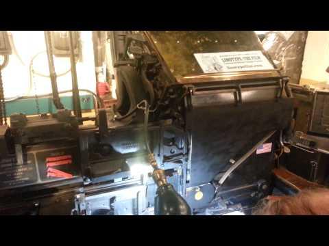 Linotype machine! Baltimore Museum of Industry