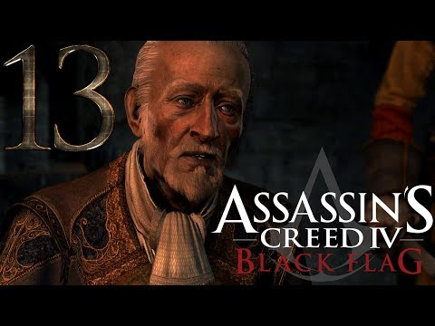 """Assassins Creed 4 Black Flag: Review Guide 13 - Sequence 5 - Memory 1 - """"The Forts"""""""
