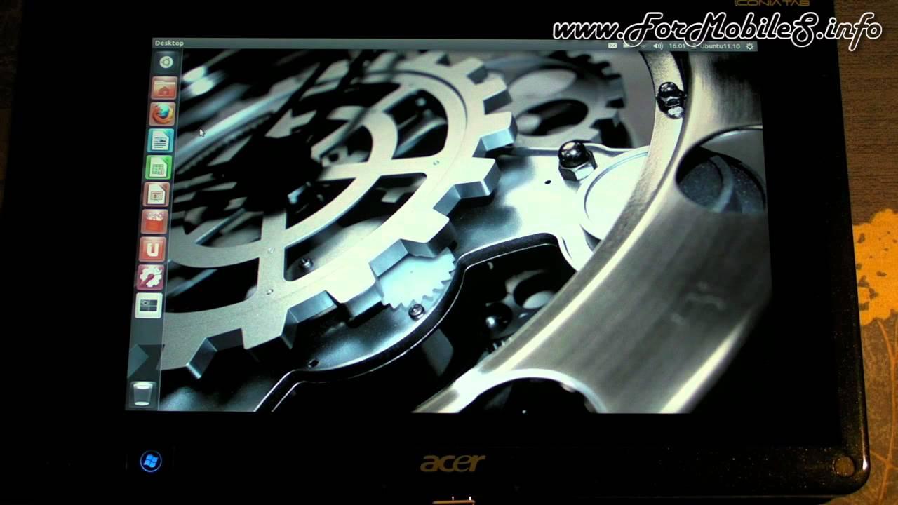 Logitech K400 - Demo funzionamento su Linux (Ubuntu 11 10)