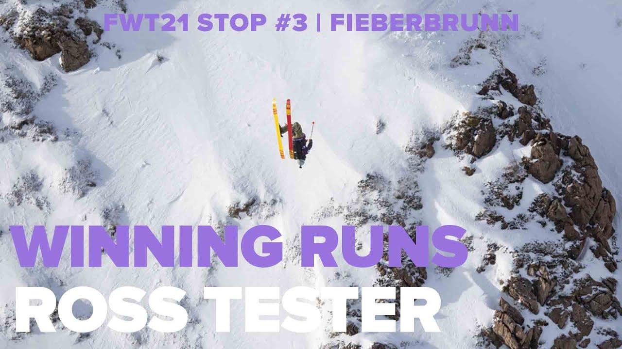 Freeride World Tour 2021. Fieberbrunn Winning Runs