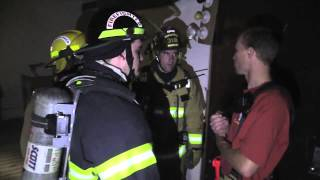 Simulated Smoke Search & Rescue Drill