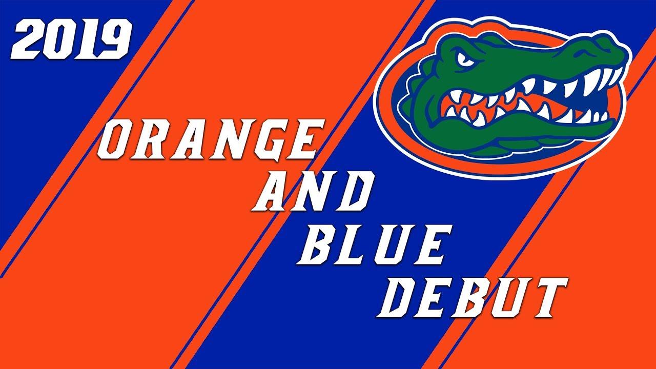 c616dbe88d6 2019 Florida Gators Orange and Blue Debut Condensed - YouTube