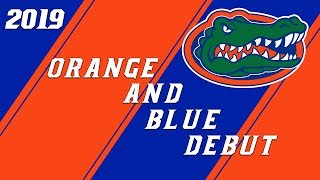 2019 Florida Gators Orange and Blue Debut Condensed