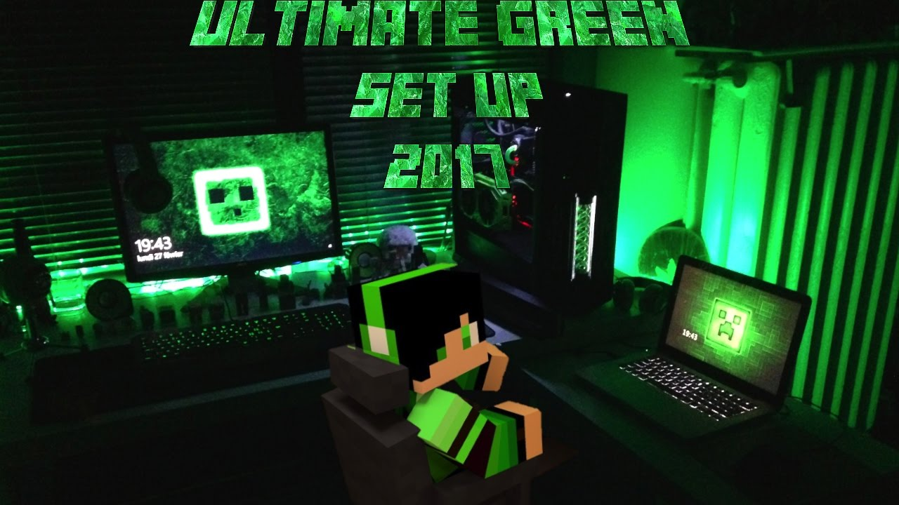 FR ULTIMATE GREEN SET UP 2017 BUILD Nouvel ordi
