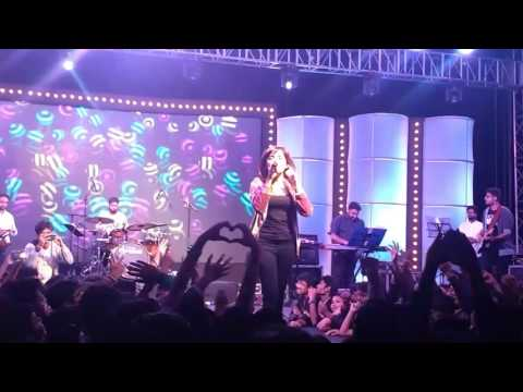 IIT INDORE FLUXUS 2017 - Live Performance By Shirley Setia