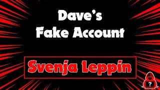 David G. Video über Svenja. Sehr armselig und Fake