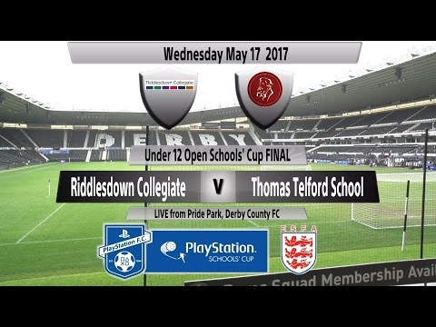 Full Match   Under 12 Open Schools' Cup   Riddlesdown Collegiate vs  Thomas Telford School