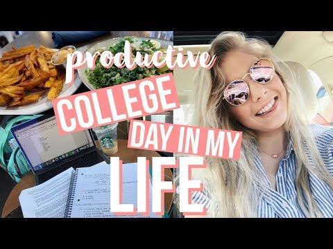 productive day in my life: homework, shopping, healthy eating