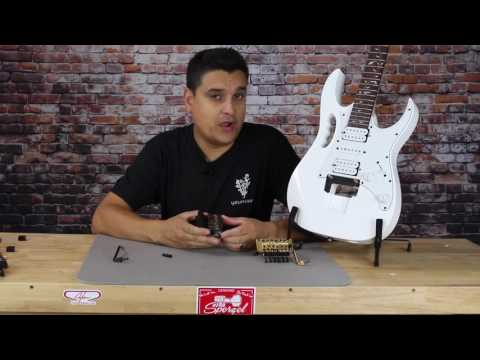 Why upgrade your Floyd Rose Style Tremolo? Dylan talks tone Ibanez Jem build series.