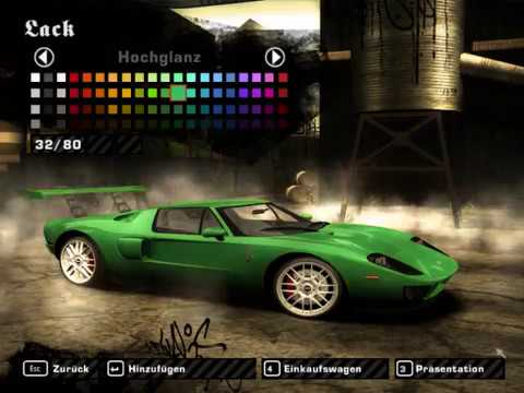 Need For Speed Most Wanted How To Reach  Km H With The Ford Gt