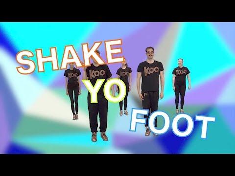 Koo Koo Kanga Roo - Shake Yo Foot (Dance-A-Long)