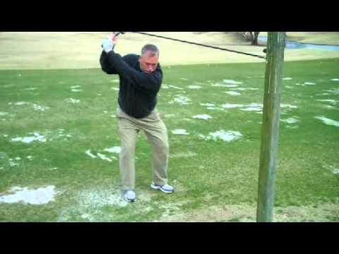 SwingTECH Golf Swing Training Aid Demonstration