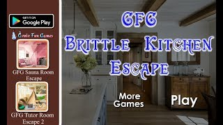 Gfg Brittle Kitchen Escape Walkthrough Geniefungames Youtube