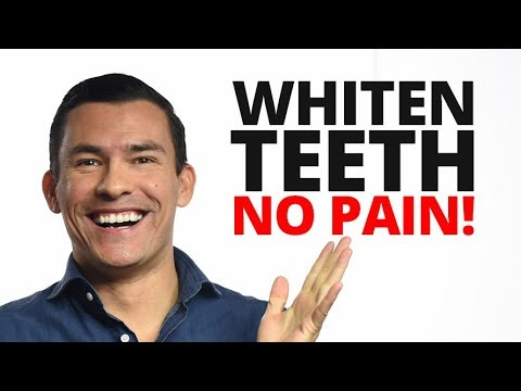 5 Hacks To Whiten Teeth Without Pain | Whitening For People With Sensitive Teeth
