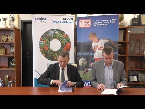 Synthos AGRO partnerem biznesowym Fundacji Górnika Zabrze