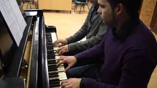 Ser Cofrade Presentado a Sevilla piano 4 manos Salva Sanchez Gonzalo Fernandez Granada