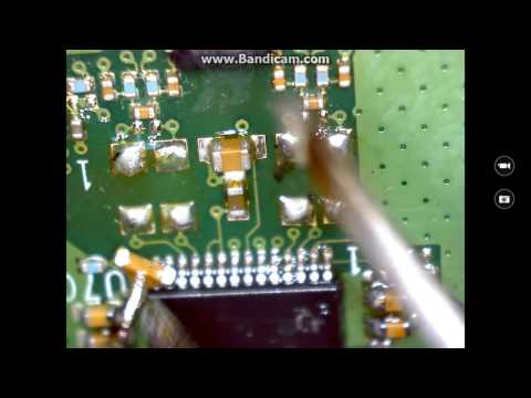 SMD/SMT capacitor replacement on Bose Color Soundlink bluetooth speaker