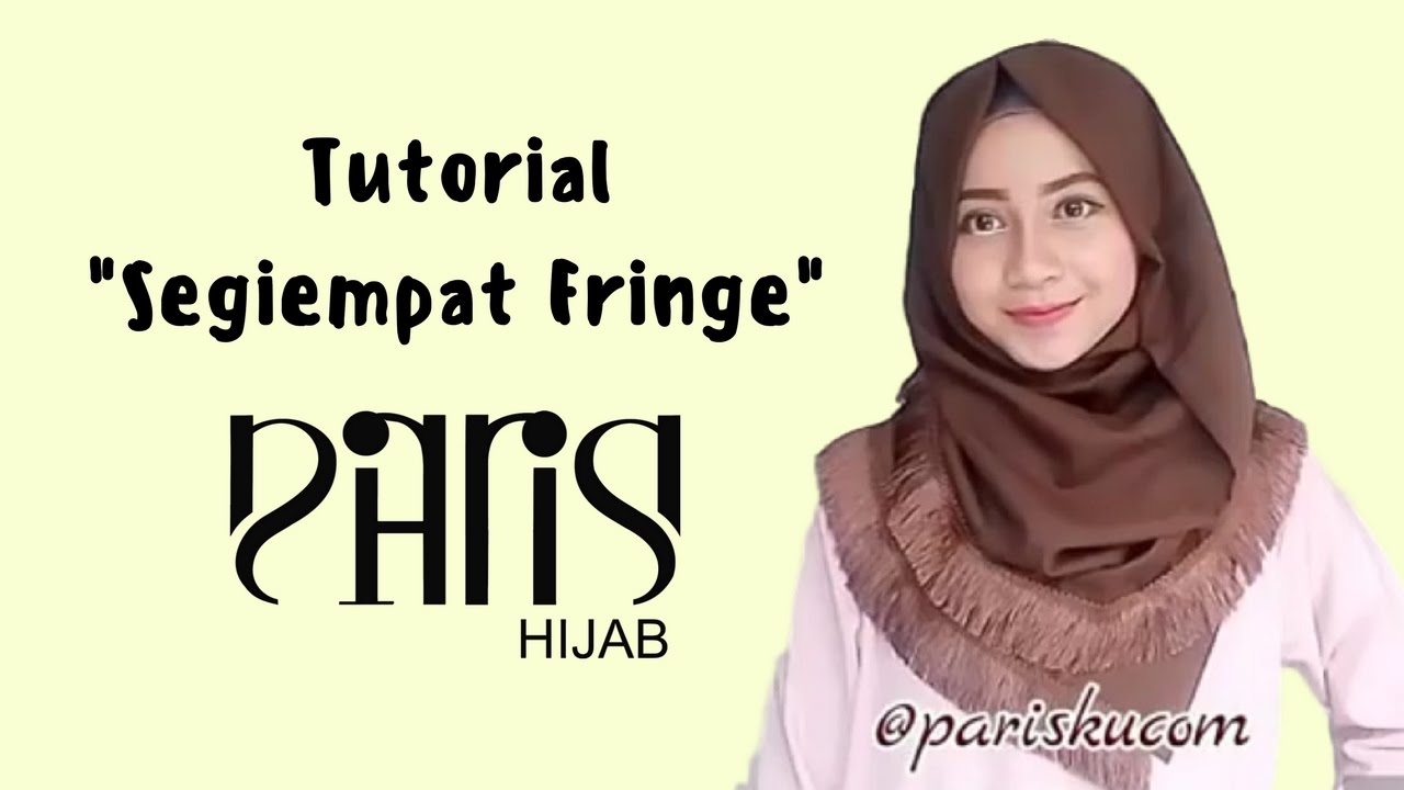 Tutorial Segiempat Fringe By PARISKU YouTube