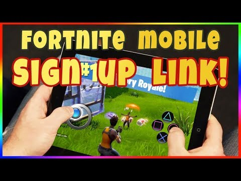 HOW TO GET FORTNITE MOBILE BETA IOS ANDROID! Fortnite Mobile Beta Signup Servers Are Down! Error 404