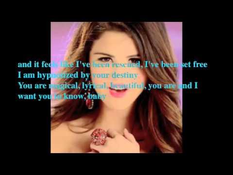 Love You Like A Love Song-Selena Gomez(with Lyrics On Screen)