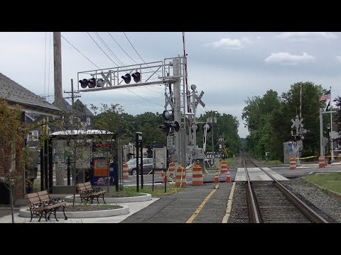 Kinderkamack Road grade crossing Update. Tour and activation of new signals