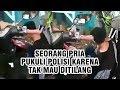 Download Mp3 Video Viral Pengendara Motor Pukuli Polisi karena Tak Mau Ditilang