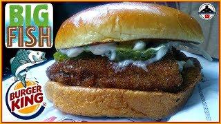 Burger King® | Big Fish Sandwich Review! 🍔👑🐟