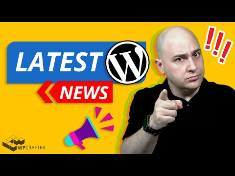 Latest WordPress News - Big WP Changes Coming, SEO Alerts, Theme Builders, & Live Q & A...