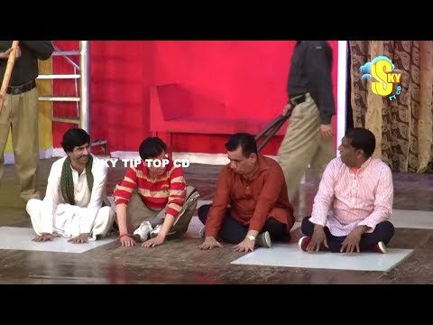 Nasir Chinyoti With Amanat Chan And Sajan Abbas Stage Drama Dhilay Aashiq Full Comedy Clip