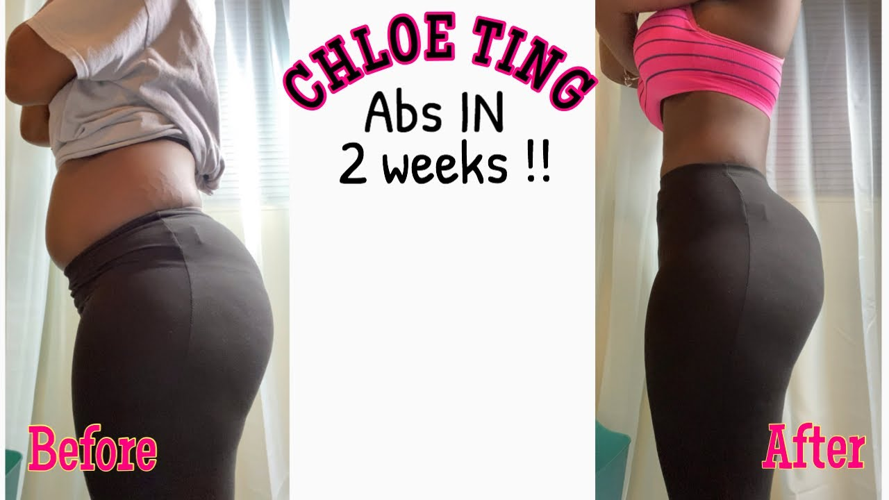 I tried the CHLOE TING two week shred challenge || *it ...